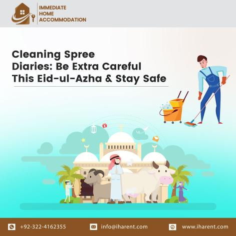Cleaning Spree Diaries: Be Extra Careful This Eid-ul-Azha & Stay Safe